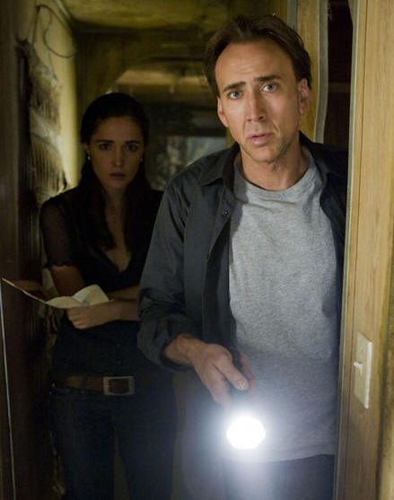 Rose Byrne and Nicolas Cage in 'Knowing.'