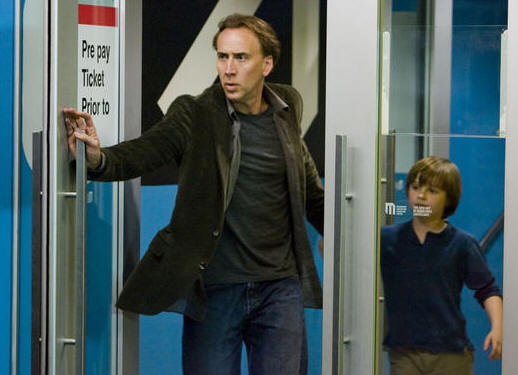Nicolas Cage and Chandler Canterbury in 'Knowing.'