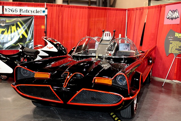 Bat-Mobile-New York Comic-Con � 2012 Mark Doyle. All rights reserved.