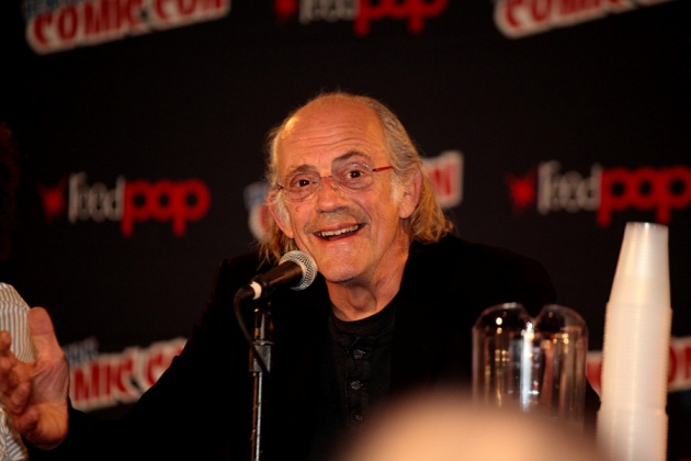 Christopher Lloyd at New York Comic-Con � 2012 Mark Doyle. All rights reserved.