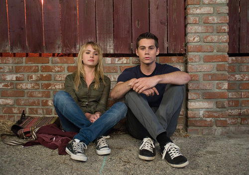 Britt Robertson and Dylan O'Brien star in THE FIRST TIME.