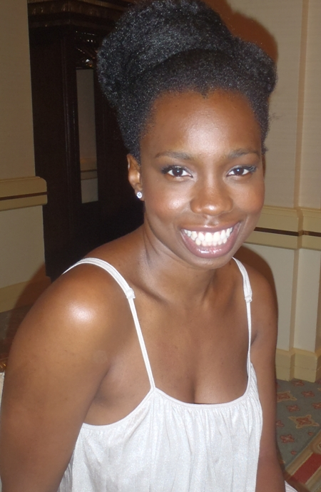Adepero Oduye at the NY Press Day for PARIAH.