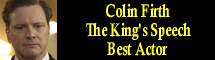 2011 Oscar Nominee - Colin Firth - Best Actor - The King's Speech