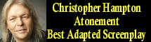 2008 Oscar Nominee - Christopher Hampton - Best Adapted Screenplay - Atonement