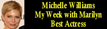 2012 Oscar Nominee - Michelle Williams - Best Actress - My Week with Marilyn