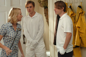Naomi Watts, Brady Corbet and Michael Pitt in 'Funny Games.'