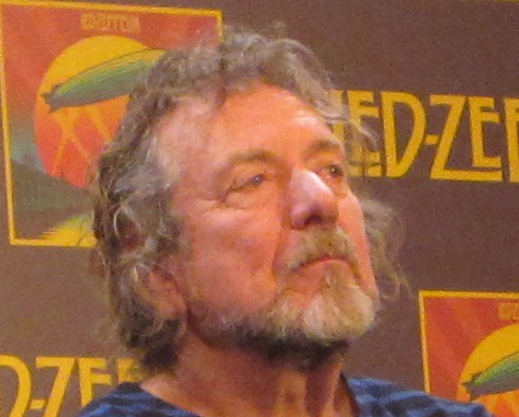 Robert Plant of Led Zeppelin at the New York Museum of Modern Art press conference for the release of �Celebration Day.�
