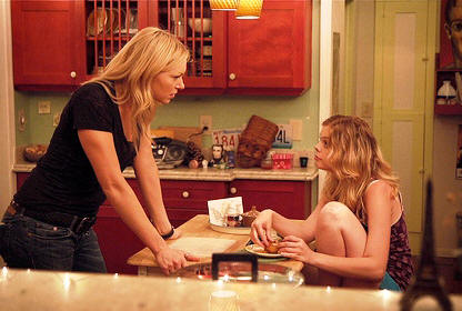 "Laura Prepon and Dreama Walker star in ""The Kitchen."""