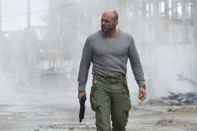 Randy Couture in THE EXPENDABLES 2