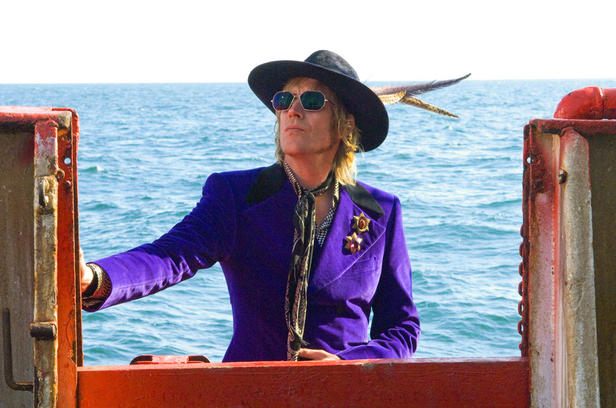 Rhys Ifans in 'Pirate Radio.'