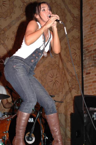 Rue Melo - North Star Bar - Philadelphia, PA - September 20, 2007 - photo by Jim Rinaldi � 2007