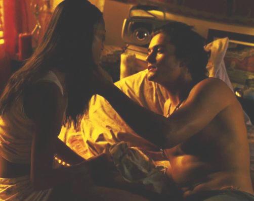 Zoe saldana sex scene in haven