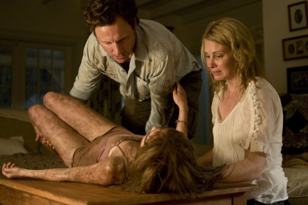 Sara Paxton, Tony Goldwyn and Monica Potter in 'The Last House on the Left.'