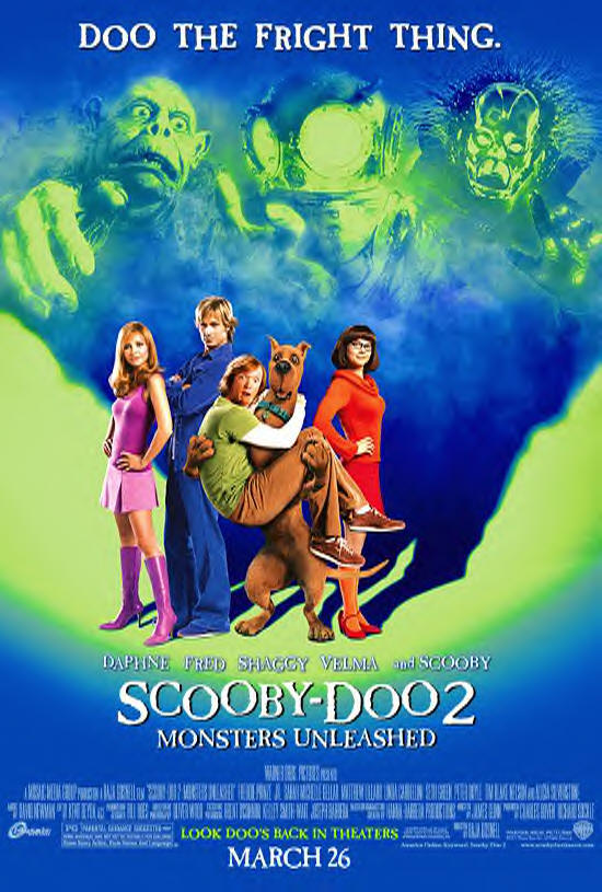 Popentertainment Com Scooby Doo 2 Monsters Unleashed 2004 Movie Review