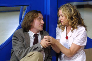 Steve Coogan and Elisabeth Shue in 'Hamlet 2.'