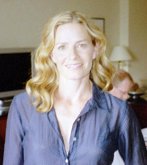 Elizabeth Shue at the Regency Hotel in New York City, August 5, 2008. Photo Copyright 2008 Jay S. Jacobs