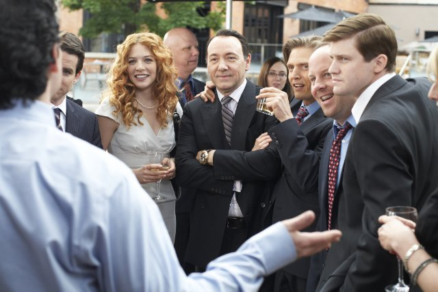 Rachel Lafevre, Kevin Spacey and Barry Pepper in CASINO JACK.