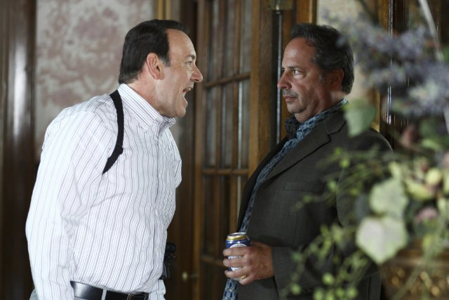 Kevin Spacey and Jon Lovitz in CASINO JACK.