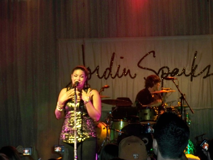 Jordin Sparks - Theater of Living Arts - Philadelphia, PA - July 18, 2010 - photo by Debbie Wagner � 2010