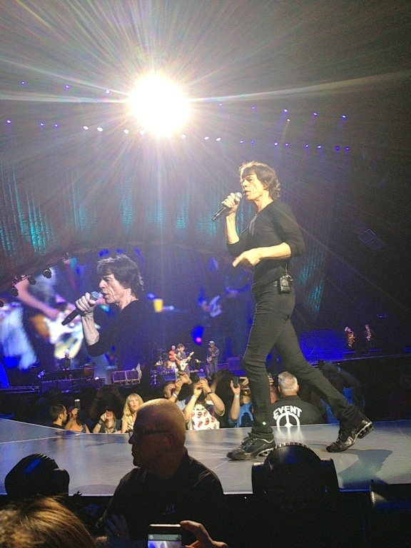 The Rolling Stones - Wells Fargo Center - Philadelphia, PA - June 18, 2013 - photo by Bill Henhoeffer � 2013