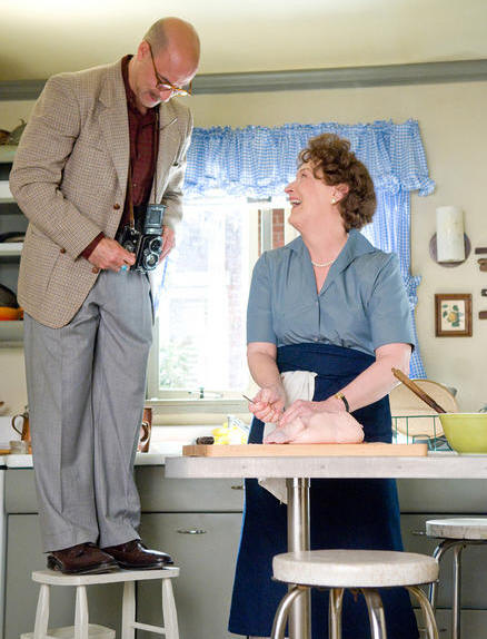 Stanley Tucci and Meryl Streep starring in 'Julie and Julia.'