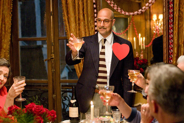 Stanley Tucci starring in 'Julie and Julia.'