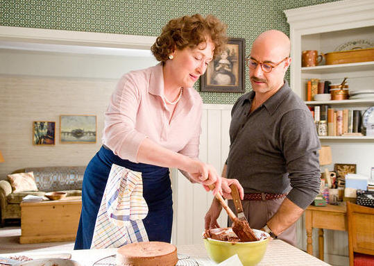 Meryl Streep and Stanley Tucci starring in 'Julie and Julia.'