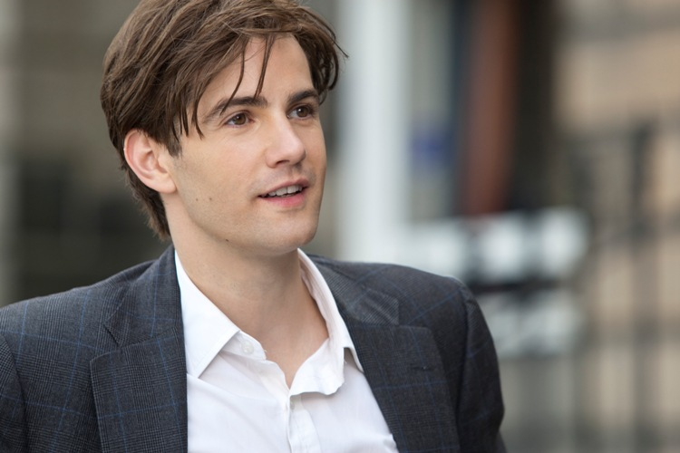 Jim Sturgess stars as Dexter in the romance ONE DAY, a Focus Features release directed by Lone Scherfig.