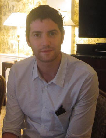 "Jim Sturgess at the press day for ""One Day"" at the Waldorf Astoria Hotel in New York, August 9, 2011. Photo copyright 2011 Jay S. Jacobs"