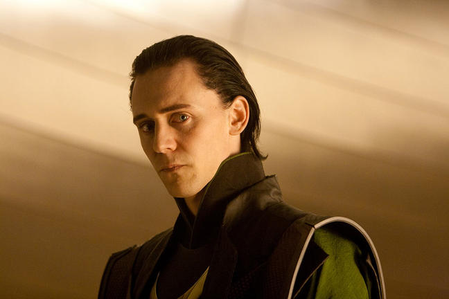 Tom Hiddleston in THOR.