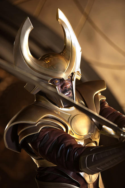 Idris Elba in THOR.