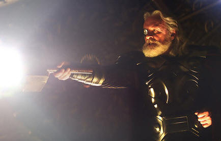 Sir Anthony Hopkins in THOR.
