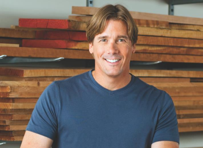 "Tommy MacDonald, host of the PBS series ""Rough Cut: Woodworking with Tommy Mac."""