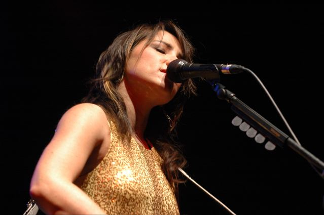 KT Tunstall - Roseland Ballroom - New York NY - November 21, 2007 - photo by Jim Rinaldi � 2007