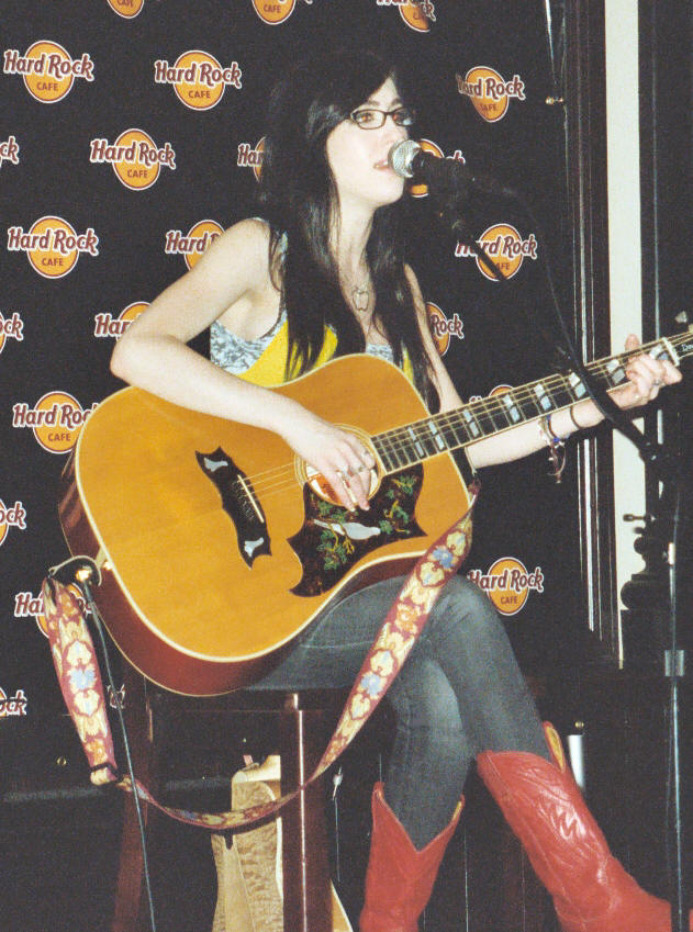 Kate Voegele � Hard Rock Caf� � Philadelphia, PA � May 3, 2008 - photo by Jay S. Jacobs � 2008