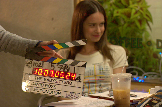 Katherine Waterston in 'The Babysitters.'