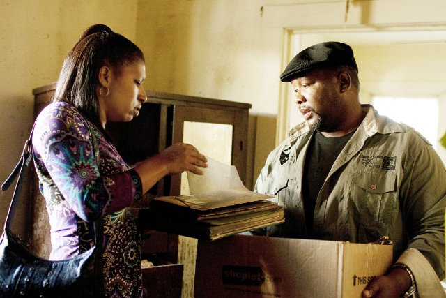 Phyllis Montana-LeBlanc and Wendell Pierce in TREME.