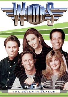 Wings: The Seventh Season - (left to right:) Tim Daly, Stephen Weber, Amy Yasbeck, Crystal Bernard and Tony Shalhoub.