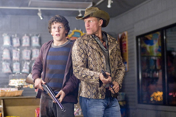 Jesse Eisenberg and Woody Harrelson in 'Zombieland.'